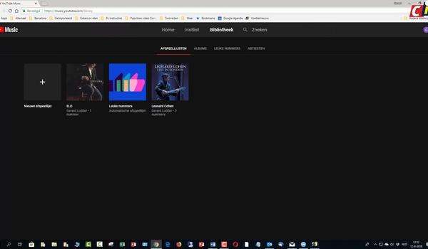 YouTube Music: afspeellijsten en meer