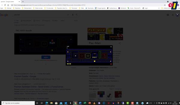 Verborgen spelletjes in Chrome en Edge