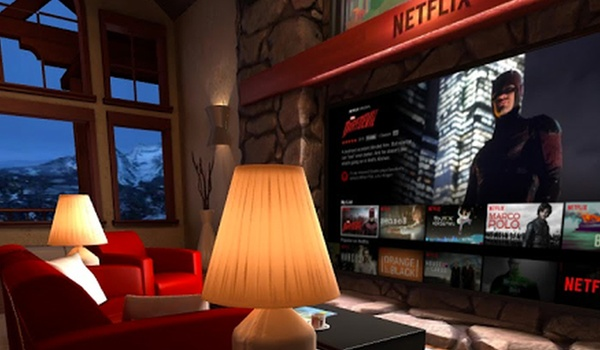 Netflix laat je films en series kijken in virtual reality