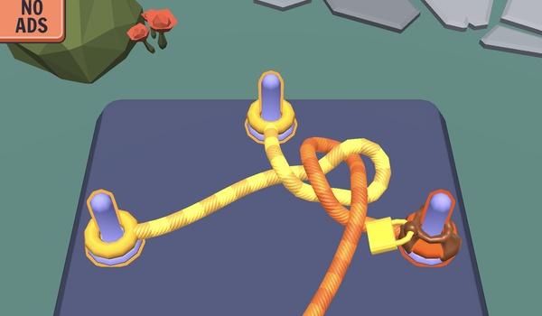 Go Knots 3D - Knopen ontwarren