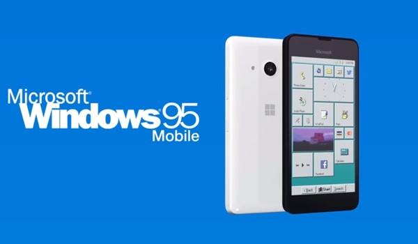 Deze Windows 95-smartphone bestaat helaas niet echt