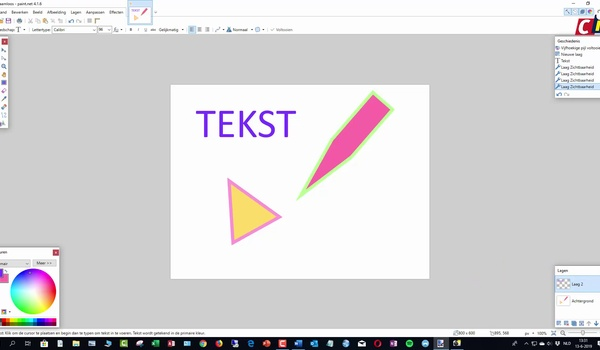 Paint.net: tekenen en bewerken