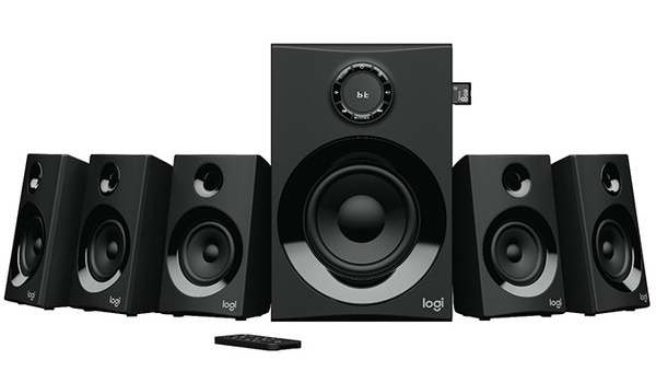 Logitech Z607 5.1-speakerset streamt ook muziek