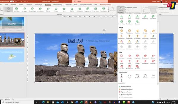 PowerPoint – Parallelle effecten