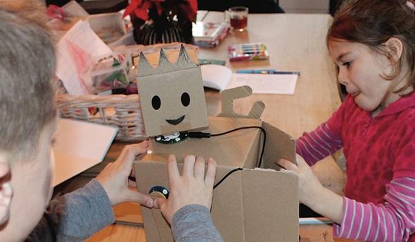 Kickstarter-campagne voor Nederlandse zelfbouwrobots