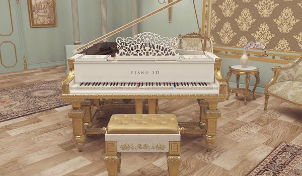 Piano 3D - Zet een concertvleugel in uw huiskamer