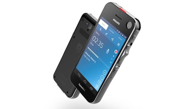Philips-dictafoon Speechair draait op Android