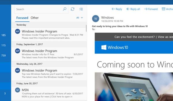 'Microsoft dringt Edge op aan Windows Mail-gebruikers'
