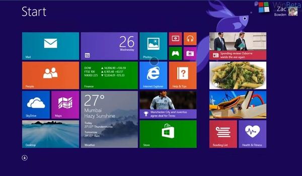 Windows 8.1 populairder dan Apples OS X Mavericks