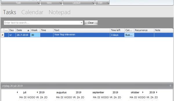 Desktop Reminder 2 Xcopy Version - Al uw verplichtingen in een handig overzicht mét alarm