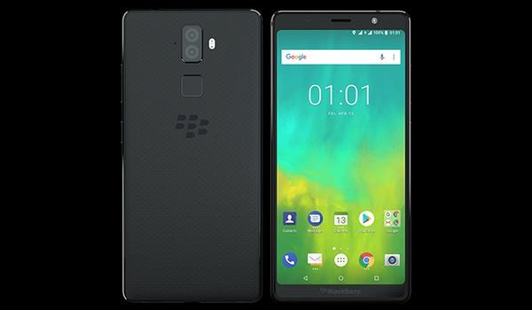 Toetsenbordloze BlackBerry Evolve onthuld