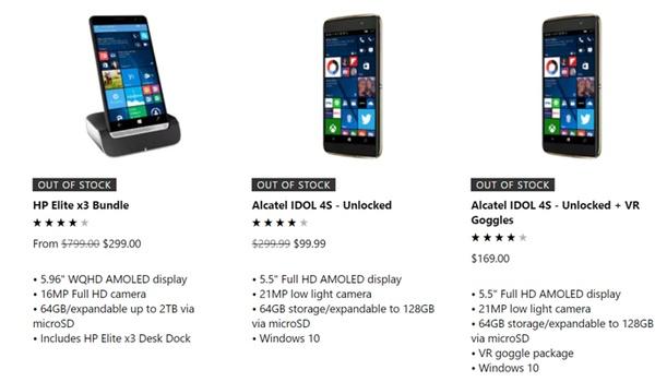 Microsoft is door Windows Phone-voorraad heen