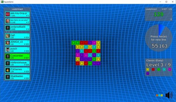 Square Game - Blokpuzzel