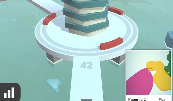 FireBalls3d - Breek de toren af maar raak nooit een hindernis
