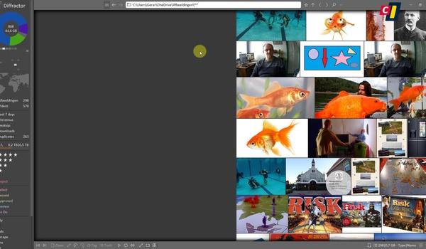 Foto- en videobeheerder Diffractor