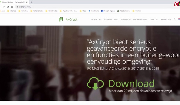 AxCrypt: bestanden beveiligen