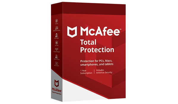 Win een jaar lang McAfee Total Protection-antivirus