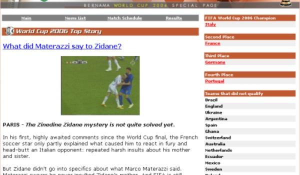 Kopstoot Zidane inspireert hackers