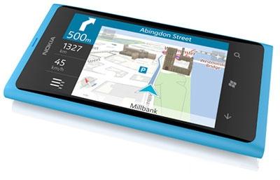 Nokia Lumia 800 nvaigation
