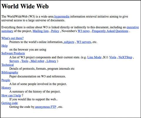 WWW pagina