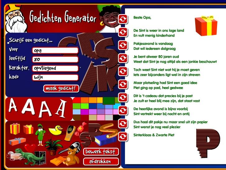 Heerlijk Digitaal Sinterklaas Avondje Computer Idee