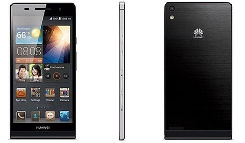 Huawei Ascend P6 kanten