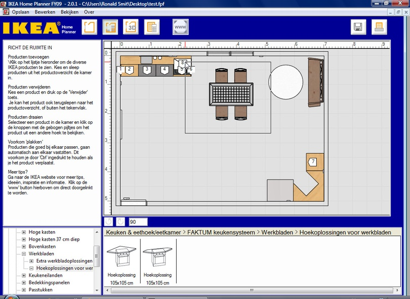 Keuken ontwerp programma cool beste keuken ontwerp for Keuken tekenen programma