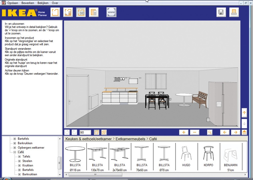 Nieuwe keuken ontwerp 39 m zelf computer idee for Keuken in 3d tekenen