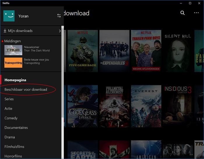 netflix film download