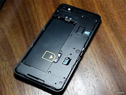 BlackBerry 10 gelekte foto 3