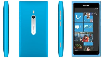 Nokia Lumia 800 sides