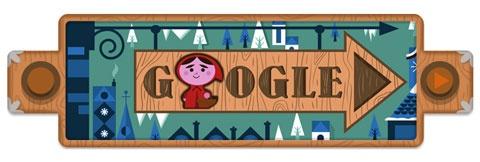 Roodkapje Grimm Google Doodle
