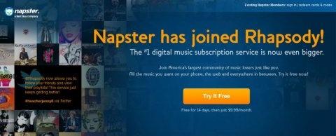 Napster Rhapsody