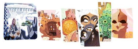 Gaudi Google Doodle