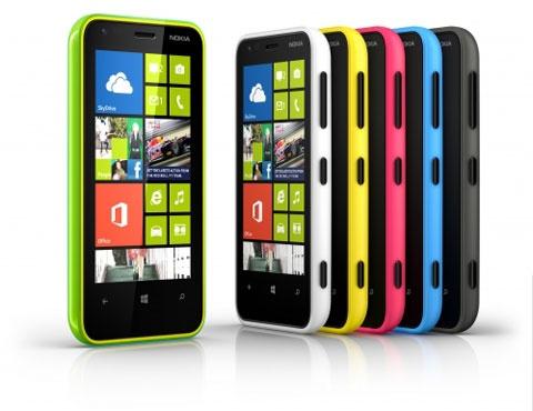 Nokia Lumia 620 kleuren