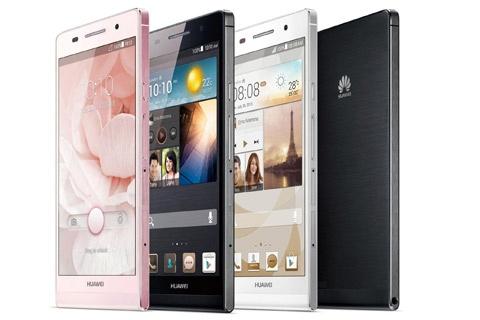 Huawei Ascend P6 kleuren
