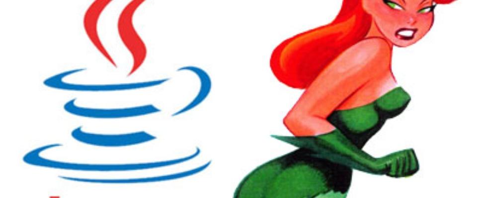 Java uitschakelen om gevaarlijk lek