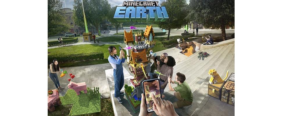 Minecraft Earth: Virtueel bouwen in echte wereld met AR