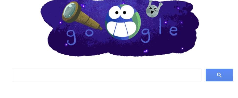 Aarde-achtige planeten zorgen voor een Google doodle