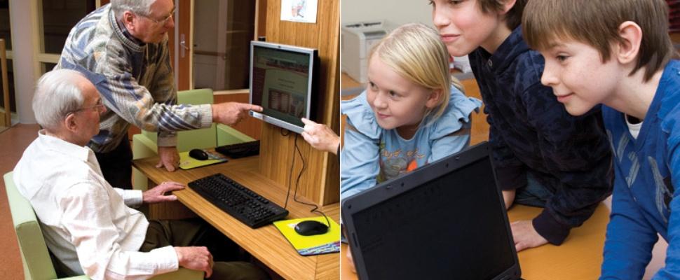 Senioren net zo computervaardig als jongeren