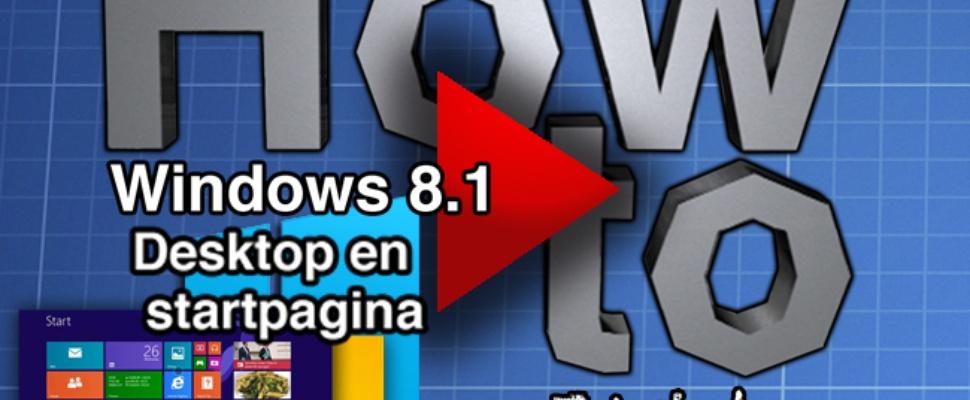 How to: Windows 8.1 start menu - video