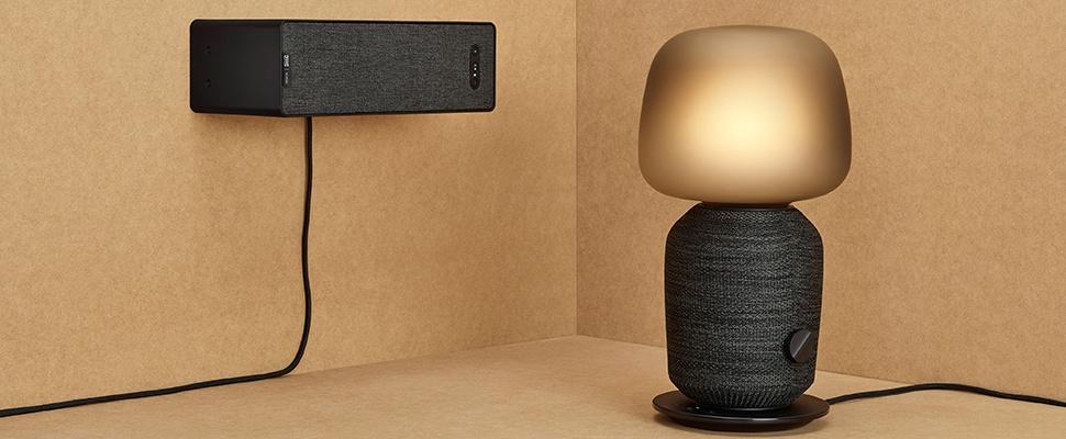 Symfonisk: IKEA boekenplank en lamp zijn Sonos-speakers