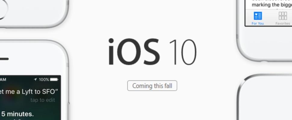 Standaard-apps op iPhone te verwijderen met iOS 10