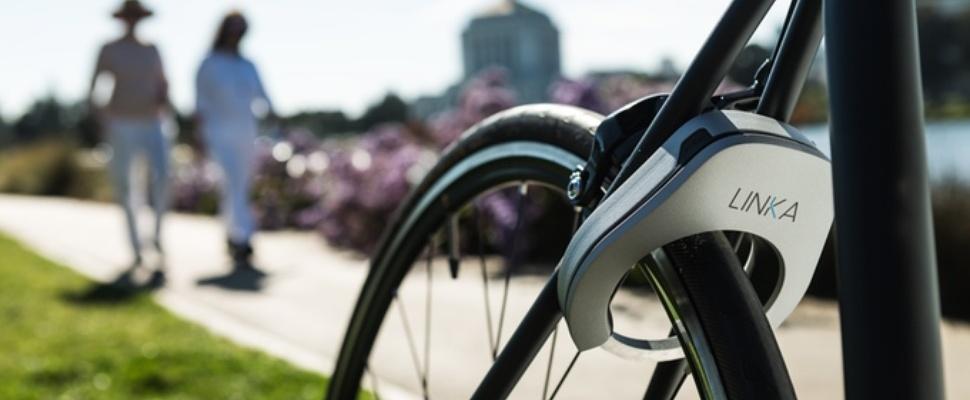 Met dit slimme fietsslot heb je geen sleutel meer nodig
