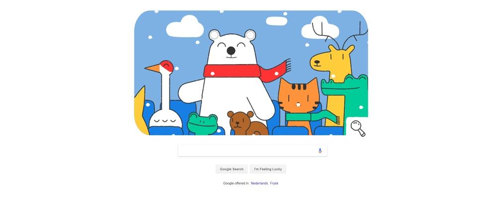 Google in het teken van Olympische Winterspelen
