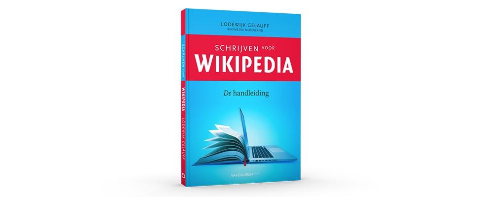 Win het boek Schrijven voor Wikipedia