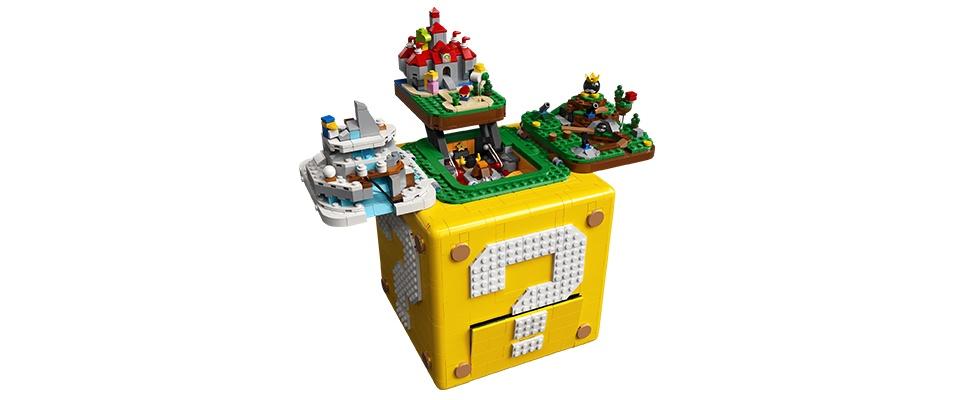 Mario-blok van Lego is knappe constructie