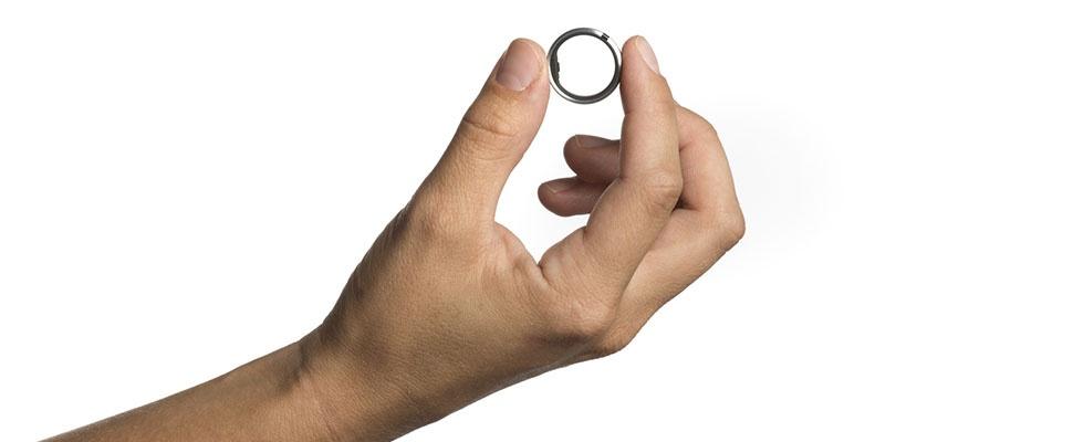 Hartritme wordt pincode met Motiv Ring
