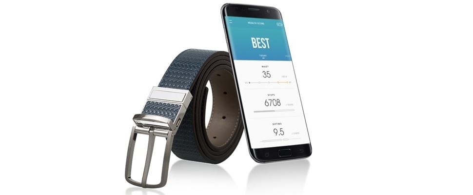 Samsung komt met slimme broekriem WELT