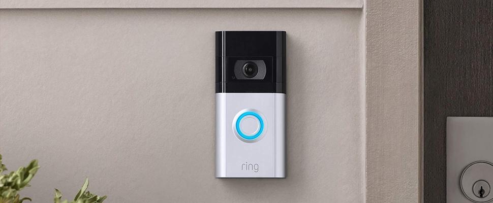 Ring Video Doorbell 4 met pre-roll-functie in kleur